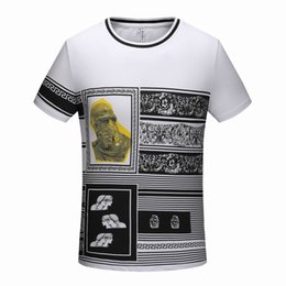 delivery flowers 2019 - Paris summer new high-end brand men's wear round collar casual flower pattern boutique t shirt and jacket m-3xl, fr