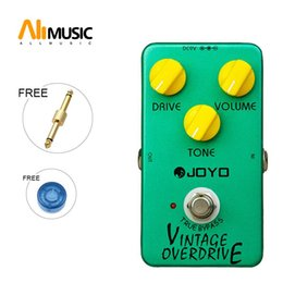 "pedal tone UK - Joyo JF-01 ""Vintage Overdrive"" Pedal with True Bypass, Quality Switch, and Tone, Volume and Drive Knobs MU0001"