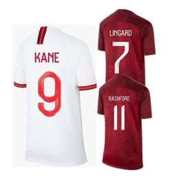 2ea8a62249c 2019 KANE WOMEN SOCCER JERSEYS WORLD CUP HOME WHITE AWAY RED Camiseta De  Futbol DELE STERLING LINGARD RASHFORD 19 20 FOOTBALL SHIRTS Maillot