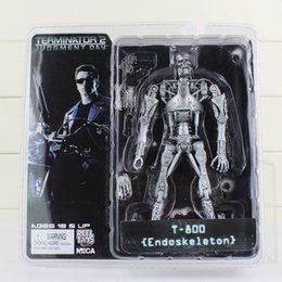 "$enCountryForm.capitalKeyWord Australia - Neca The Terminator 2 Action Figure T -800 Battle Across Time Arnold Pvc Action Figures Toy Collectible Model Dolls 7 ""18cm"