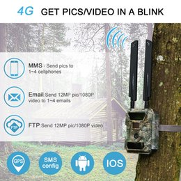 Trail gps online shopping - willfine cg GPS outdoor waterproof G FDD LTE TDD LTE mp hunting trail camera photo traps digital night vision APP control