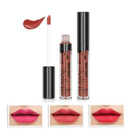 $enCountryForm.capitalKeyWord Australia - Waterproof Long Lasting Moisturizing Not Easy To Stain Cup Lip Gloss 12 Glitter Color Lip Gloss Matte Liquid Lipstick TSLM1