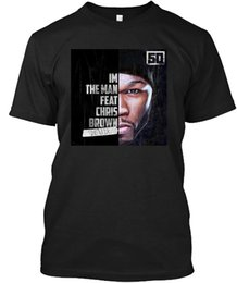 $enCountryForm.capitalKeyWord NZ - I'm The Man-50 Cent Feat. Chris Brown T-shirt Customized HandmadeCotton Shirts Cheap Wholesale