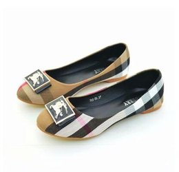 Metal Sneakers Australia - hot sale Famous Brand Designer Travel Prom Flats Metal Buckle Ballet Flats Women KIDS Sheepskin Genuine Sneakers Sandals Shoes 35-42