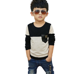 $enCountryForm.capitalKeyWord UK - 2-11t Quality Spring Autumn Baby Boy T Shirt Casual Vetement Garcon Kids Clothes Toddler T-shirt Children Clothing Tops Tee Y190518