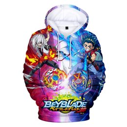 red beyblade NZ - Beyblade Burst Evolution Hoodies Men women Sweatshirts Beyblade Burst Evolution Hoodie Mens Hoody Sweatshirt Boy Girls Cap Coats LY191209
