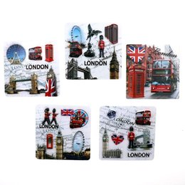 london home decor UK - 3d Resin Fridge Magnets British Element Big Ben Guard London Tourist Souvenir Refrigerator Magnet stickers Home Decor Gift Ideas