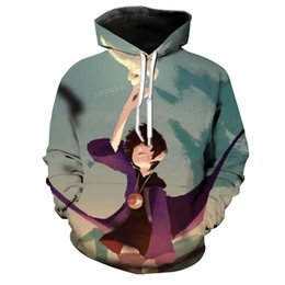 japanese clothes sweatshirt 2019 - 3D Hoodies Men Boys Kids Sweatshirta Teens Harajuku Hipster Pullover Mens Japanese HarajukuStreetwear Sweatshirt Male Cl