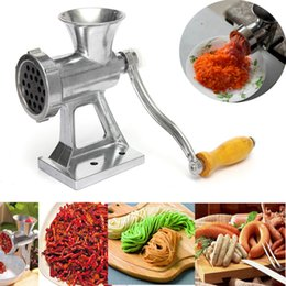 sausage making NZ - Manual Meat Grinder & Sausage Noodle Dishes Handheld Making Gadgets Mincer Pasta Maker Crank Home Kitchen Cooking Tools Multifunctional mini