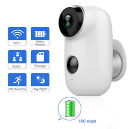 $enCountryForm.capitalKeyWord Australia - Outdoor Security Camera Wireless Rechargeable Battery Powered Surveillance System WIFI IP Hd Cctv Video House Monitor