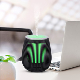 $enCountryForm.capitalKeyWord Australia - Portable 100Ml DC 5V USB Ultrasonic Cool Mist Aromatherapy Air Humidifier 7 Colors-Changing Led Light Mini Essential Oil Aroma Diffuser