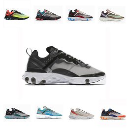 $enCountryForm.capitalKeyWord NZ - Box With Total Orange React Element 87 Running Shoes For Women Men Dark Grey Blue Chill Trainer 87s Sail Green Mist Sports Sneakers