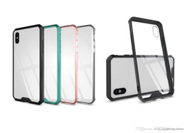 $enCountryForm.capitalKeyWord NZ - Armor Transparent Clear Air Hybrid Phone Case For iPhone 6 7 8 Plus X XS MAX Samsung Note 9 S8 S9 A8 2018 Plus TPU Bumper Cover OPP Bag