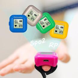 Toptan satış Akıllı Yüzük Kan Basıncı Oksimetre Band Bluetooth Spor Izci Kalp Hızı Su Geçirmez iOS Android Erkekler Kadınlar Için