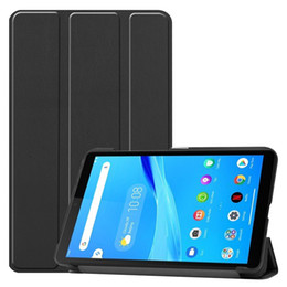 magnets for business NZ - Funda Flip Cover for Lenovo Tab M7 Magnet PU Leather Case for Lenovo Tab M7 2019 TB-7305X 7305F 7305I