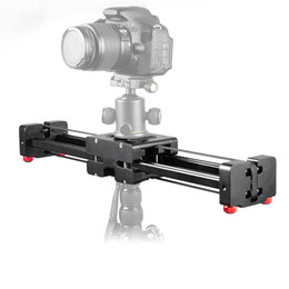 $enCountryForm.capitalKeyWord NZ - Freeshipping FT-40 40cm Rail Retractable Video Track Slider Dolly Camera Stabilizer 80cm Actual Sliding Distance for Canon Nikon Sony DSLRs