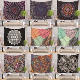 Wholesale sugar cars online – design 178 Color Map Flamingo Mandala Buddha Horus Sugar Skull Polyester Tapestry Fresco Yoga Beach Blanket Towel Home Decoration cm ZZA1089