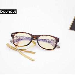7233781ee04 BAUHAUS ULTEM- leopard print Goggles Anti Blue Laser Fatigue  Radiation-resistant Eyeglasses Glasses Frame Oculos de grau