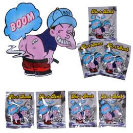 200 pcs Engraçado Fart Bomb Bags Stink Bomba Fedorento Engraçado Gags Práticas Piadas Brinquedo Fool April Fool's Day Tricky Brinquedos AIJILE venda por atacado