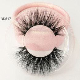 $enCountryForm.capitalKeyWord Australia - New style 3D real mink hair eyelashes Messy Cross Thick Natural lashes winged lashes Fake Eye Lash clear box private label