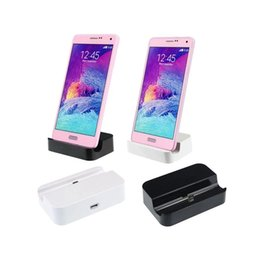 Wholesale Top Quality Universal Android Mobile Phone Charger Base Micro USB Charging Syncing Docking Station Dock Rainbow Convenience Mini version TWS