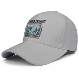 Muscle Creams NZ - Lynyrd Skynyrd THE COMPLETE MUSCLE SHOALS ALBUM grey for men and women trucker cap baseball design fitted plain vintage youth hats