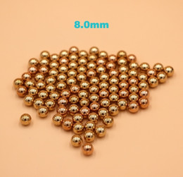 $enCountryForm.capitalKeyWord NZ - 8mm Brass (H62) Solid Bearing Balls For Industrial Pumps, Valves, Electronic Devices, Heating Units and Furniture Rails