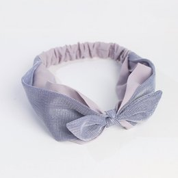 Professional Sale Korea Fabric Tie Knot Hair Hands Embroidery Hairband Flower Crown Headbands For Girls Hair Bows Hair Accessories D Girl's Hair Accessories