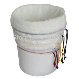 Ingrosso Tutti Mesh Bubble Bags 5 galloni 5pcs corredo di erbe Ice estrattore Hash Essenza estrazione filtro Shampo erba