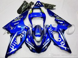 98 R1 Fairing Blue Australia - New ABS Motorcycle Fairing kit for YAMAHA YZF R 1 98 99 YZF R 1 1998 1999 YZF1000 yzf r1 98 99 Fairings set cool blue