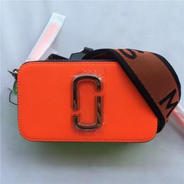 $enCountryForm.capitalKeyWord Australia - 2019 New Camera Bag Wide Shoulder Strap Letter Small Square Bag Leather Ladies Handbag Double Zipper Small Shoulder Bag Handbags J190613