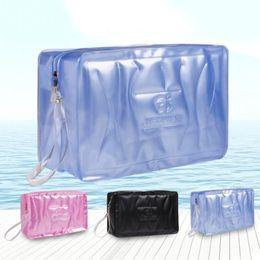 34eb750a9d Pool Beach Bags Swimming Gym Bag Waterproof Handbags Transparent PVC  Organizer Sack Swimsuit Wash Gargle storage  18  288371