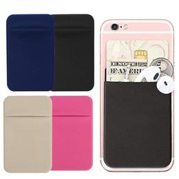 $enCountryForm.capitalKeyWord Australia - designer card holder Pouch Universal Card Holder Slim Phone Back Removable Stick-on Mini Pocket Case Credit Adhesive Wallet