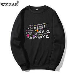 Wholesale stranger things hoodie for sale - Group buy Sweatshirts Women And Men Stranger Things Hoodies Sweatshirt Men Auturm Winter Hi Hop Hoodies Sweatshirt For Men Pullover