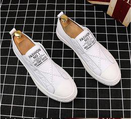 $enCountryForm.capitalKeyWord Australia - Luxury Mens Office Dress leather Wedding Casual shoes handmade business loafers slip on Italian brand designer male dress shoes W377