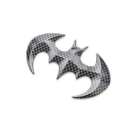 $enCountryForm.capitalKeyWord NZ - 3D metal batman badge emblem tail decal motorcycle car accessories Cool Metal bat auto logo car styling car stickers