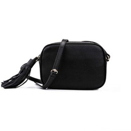 vintage style trunk UK - New Style Cosmetic Tassel Bags Designer Shoulder Bag Handbags Lady Cross Body Bag Purse Fashion Vintage Leather Makeup Bags