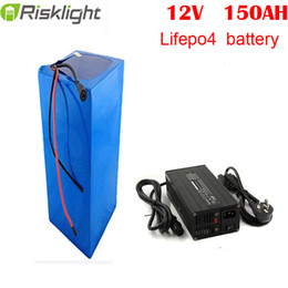 battery solar 12v Australia - rechargeable power lifepo4 12V 150ah lithium ion battery for RV solar system yacht golf carts storage and car