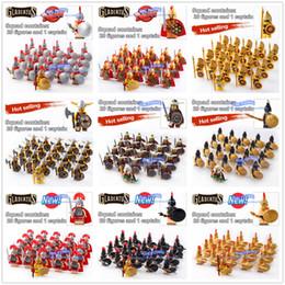 $enCountryForm.capitalKeyWord Australia - Dr.tong 21pcs lot Gladiatus Warriors Rome Fighters Medieval Castle Knights Building Blocks Brick Toys MX190730