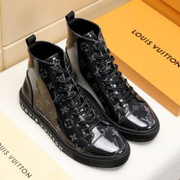 $enCountryForm.capitalKeyWord Australia - Fashion Ankle Boots for Men Autumn Winter Leather Men Boots Casual Shoes Rubber Platform Leather Mens Work Boots Plus Size M#19 Hot