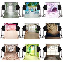Scenic Curtains Australia - factory design custom 5X7FT wedding scenic background photos for photography curtains vinyl backdrops studio comunion decoracion for party