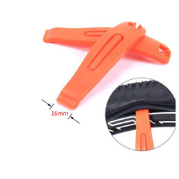 tire levers NZ - 1 Set Bike Repair Tool Mountain Cycling Tire Plastic Intensify Tire Rods Bicycle Pry Bar Lever Repair Tools Accessories