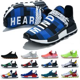 $enCountryForm.capitalKeyWord Australia - Casual HUMAN RACE boost platform shoes star Pharrell Williams Mc Tie Dye Solar Pack Mother designer Fashion golden mens Sports Shoes