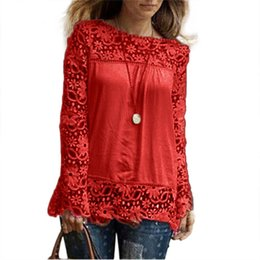 fa8a91069 Blusas peplum size xl online shopping - crop top Women blouse lace up high  quality blusas