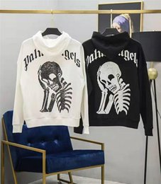 $enCountryForm.capitalKeyWord Australia - Right Version palm angels mens Pollover Hoody white Black hoodies skull designer sweatshirts luxury autumn winter loose shirts for couples