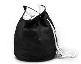 $enCountryForm.capitalKeyWord NZ - 2019 Classic logo Drawstring Gym Bucket Bag Thick Travel Draw String Bag Women Waterproof Wash Bag Cosmetic Makeup Storage Case