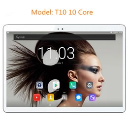 "android child tablet Australia - T10 Original 10"" 4G LTE Tablet Phone call 1920*1200 IPS 10 Core Android 7.0 Tablet PC for Children 4G 64G BabyPad For Kids"