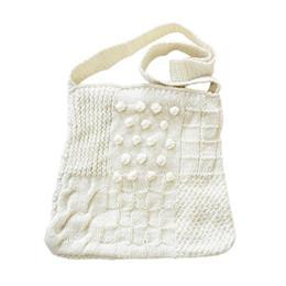 $enCountryForm.capitalKeyWord Australia - Women Handmade Wool Woven Bag Bohemian Single Shoulder Travel Hand Bags Knitted With Wool For Women Handbag Handbags Tote Bag