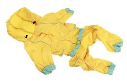 $enCountryForm.capitalKeyWord UK - 1PCS High Quality Pet Waterproof Raincoats Dog Vest Outerwear Jacket Puppy Dog Rain Poncho Reflective Raincoat 9 Sizes