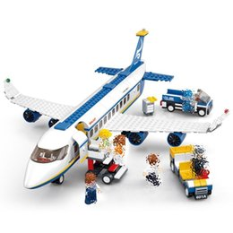 $enCountryForm.capitalKeyWord Australia - 463pcs Air Plane Passenger Airport City Compatibie Legoings Building Blocks Toy Kit Diy Educational Children Christmas Gifts MX190730